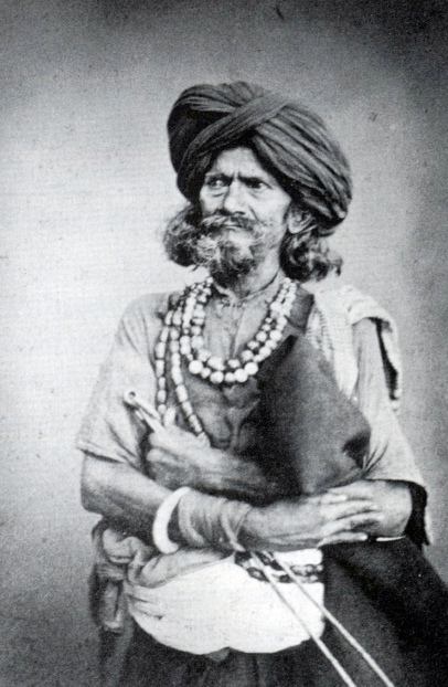 Fig. 6: G, Western, A Fakir, c.1860, albumenprint, Museum of Archaeology and Anthropology, Haddon Collection.